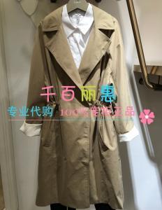 丽丽专柜正品代购2016秋款女风衣116320C1513咖色现货M L原价999_www.nvshen9.com